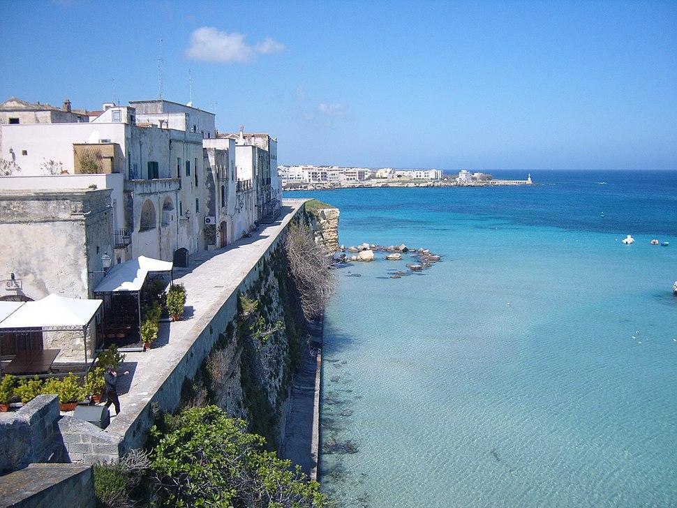 Otranto seen from the castle