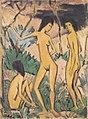 Otto Mueller - Drei Akte in Landschaft - ca1919.jpeg