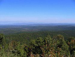 Choctaw Nation landscape