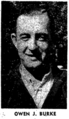 Owen J. Burke (1915-1984) in the Jersey Journal of Jersey City, New Jersey on November 18, 1944.png