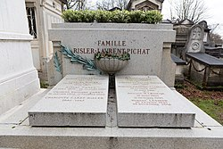 Tomb of Risler and Laurent-Pichat