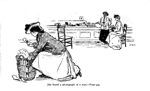 P457, Scribner's Magazine 1903--The blue dress.png
