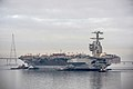 PCU Gerald R. Ford (CVN 78) is moved to Pier 3. (10949285573).jpg