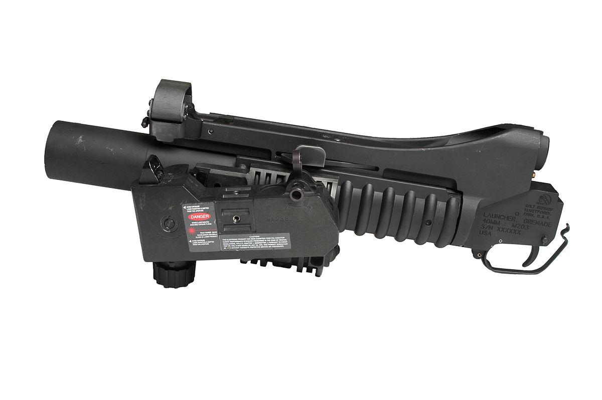 M203 grenade launcher - Wikipedia
