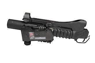 M203 grenade launcher - M203A2