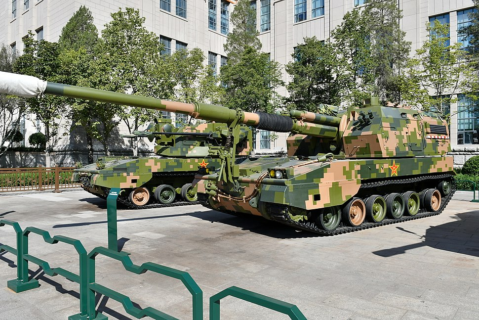 PLZ-05 Self-Propelled Artillery 20170919