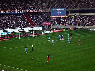 Paris Saint Germain X Olympique De Marseille Em  No Parc Des Princes