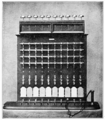PSM V70 D236 Forty wire telephone switchboard.png