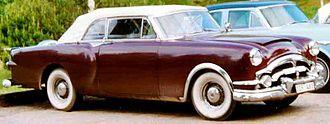 Packard Caribbean - 1953 Packard Caribbean Convertible