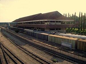 Padang Besar, Malaysia - Padang Besar Inland Dryport Railway Station