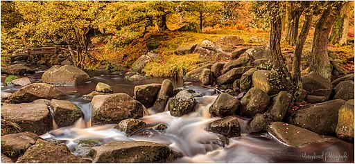 Padley Gorge Waterfall Pana (49607872)