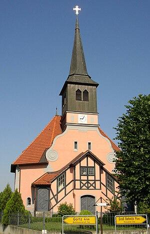 Päwesin - Church in Bagow