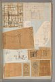 Page from a Scrapbook containing Drawings and Several Prints of Architecture, Interiors, Furniture and Other Objects MET DP372089.jpg