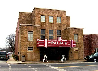 Palace Theater (Crossville, Tennessee) movie theater in Crossville, Tennessee, United States