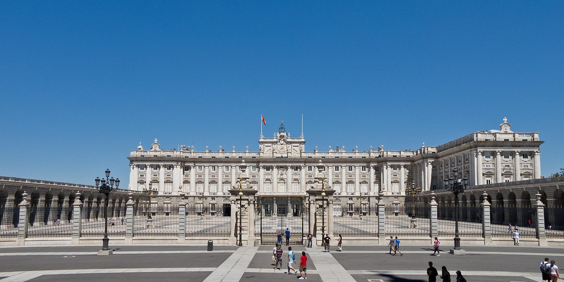 Palazzo reale di Madrid - Wikipedia