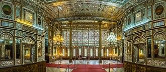 Golestan Palace - Edifice of the Sun (Shams ol Emareh)