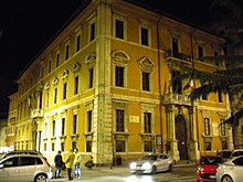 Palazzo Donini sede della regione.