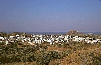Palekastro - Palekastro: panorama