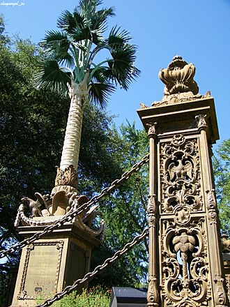 Christopher Werner - Image: Palmetto Regiment Monument (Detail)