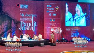Jasraj - Pandit Jasraj Concert in New Delhi by Navrasa Duende