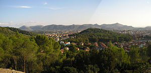Carbonia, Sardinia - Image: Panorama Carbonia