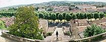 Panorama de la basse-ville d'Auch depuis le haut de l'Escalier Monumental.jpg