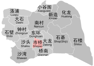 Panyu District - Administrative divisions of Panyu