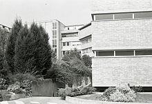 Policlinico Sant'Orsola-Malpighi. Foto di Paolo Monti, 1974.