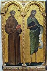 Saint François d'Assise et saint Jean Baptiste