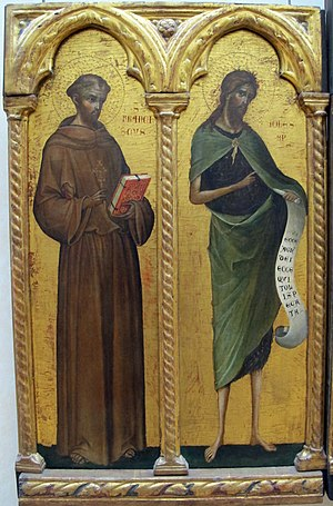 St. Francis of Assisi and St. John the Baptist