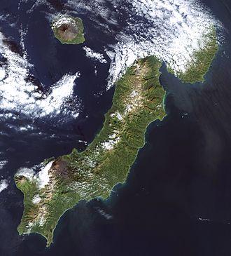 Paramushir - Paramushir Island (Landsat 7 image)