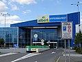 Pardubice, hypermarket Albert, příjezd.jpg