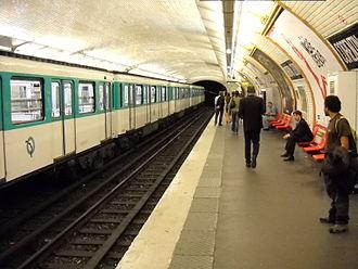 Corentin Celton (Paris Métro) - Image: Paris metro Corentin Celton 2
