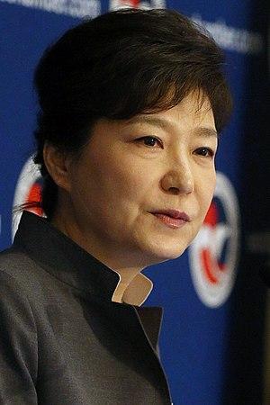 affiche Park Geun-hye