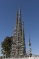 Part of Watts Towers, a collection of structures and art in the low-income Watts section of Los Angeles, California LCCN2013631540.tif