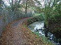 Path along stream - geograph.org.uk - 604822.jpg