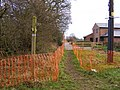 Path through Cranmoor Lodge - geograph.org.uk - 1618661.jpg