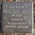 Paul Karl Bach - Detmerstraße 3 (Hamburg-Barmbek-Nord).Stolperstein.nnw.jpg