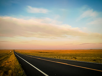 Pawnee National Grassland - Image: Pawnee Grassland Sunrise
