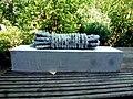 Pedro Meier Skulptur »Seil« (Seil, geflochten, Holz, weisse Farbe, Objet trouvé) 2014. Skulpturenpark Gerhard Meier-Weg Niederbipp, Schweiz. Foto © Pedro Meier Multimedia Artist.jpg
