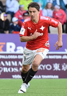 Pekka Sihvola Finnish footballer