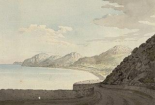 Penmaenbach from Penmaen Mawr road