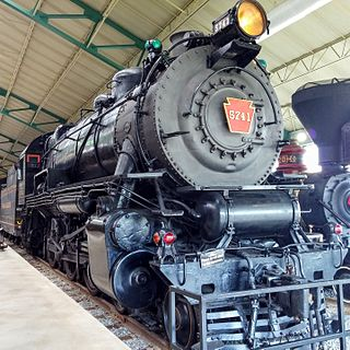 Pennsylvania Railroad class G5 United States historic place