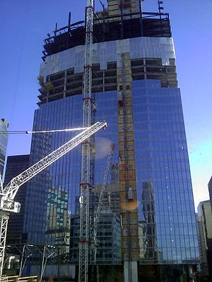 Eighth Avenue Place - Image: Penny Lane Towers construction