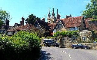 Penshurst Human settlement in England