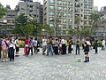People Photographing Shiratsuyu Cosplayer in Plaza 20140705.jpg