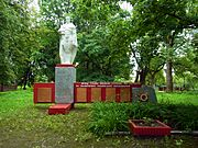 Perevaly Turiyskyi Volynska-monument to the countrymen-general view.jpg