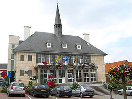 Perwez: the Town Hall