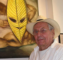 Peter Flinsch at the Galerie Dentaire in Montreal during a one man show in June and July, 2005.