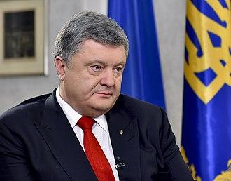 Post-Soviet states - Image: Petro Poroshenko in Slovenia in 2016 54